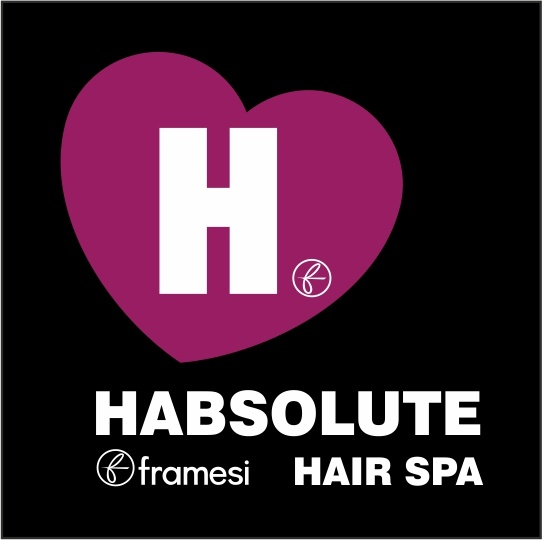 HABSOLUTE FRAMESI HAIR SPA  HAPPY PIN ... HAPPY HABSOLUTE