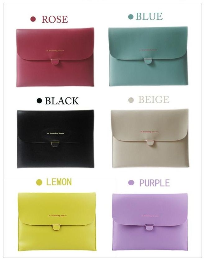Candy Color Ipad Case (Clutch)
