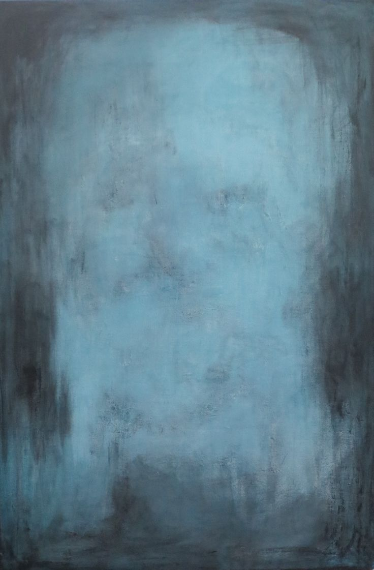 """""""Guardian I"""" original abstract painting by Suzanna Denes"""