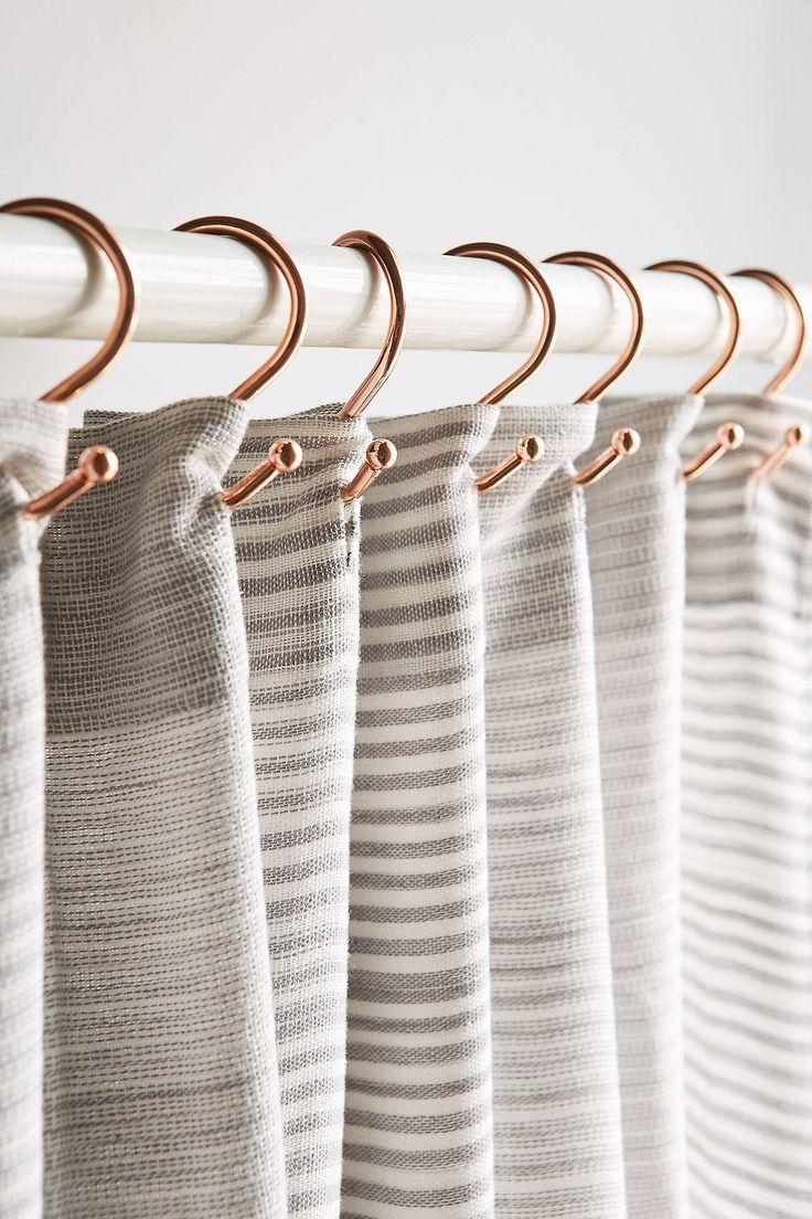 17 Best Ideas About Shower Curtain Hooks On Pinterest Closet Door Alternative Rustic Shower