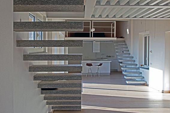 white wooden floor