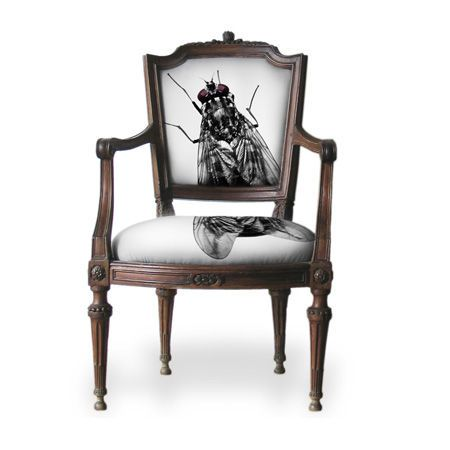 Fly Chair Creepy Home Decorprinting