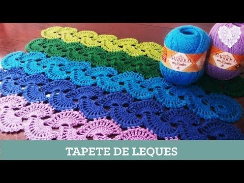 Criações em Crochê: Ponto Tunisiano Entrelaçado | Luciana Ponzo - YouTube