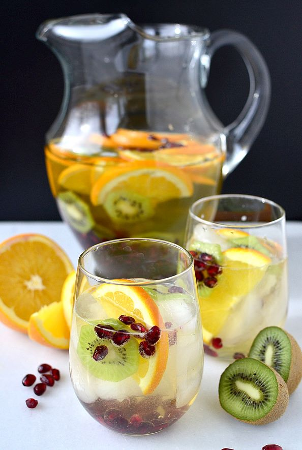 Champgne Sangria Punch