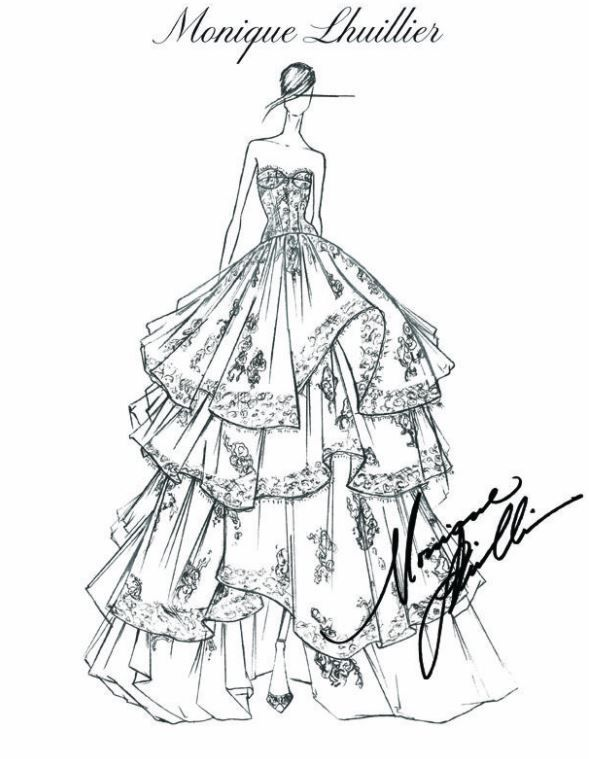 Fashion Design Sketches By World S Top Fashion Designers Top Design Fashion Dress Sketches Illustration Fashion Design