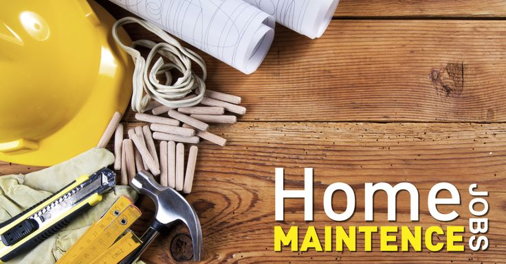 Home maintenance jobs Below are Total Lifestyles's best tips and tricks to quick home maintenance jobs around the house. These tips are so easy that even your husband and his dog could do them! http://www.totallifestylebuilders.com.au/home-maintenance-jobs/#utm_sguid=153564,6869bb66-868d-9224-c87c-357c1a700ad7