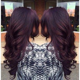 hair color & length