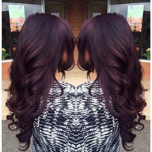 hair color & length
