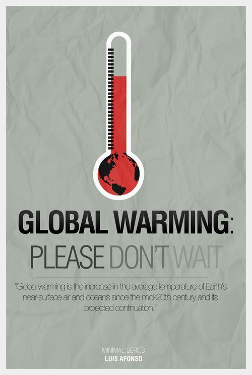 33 Creative Global Warming Poster Designs for your inspiration. Read full article: http://webneel.com/webneel/blog/33-creative-global-warming-poster-designs-your-inspiration | more http://webneel.com/advertisements | Follow us www.pinterest.com/webneel
