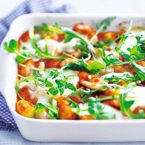 Recept - Gnocchi met garnalen - Allerhande