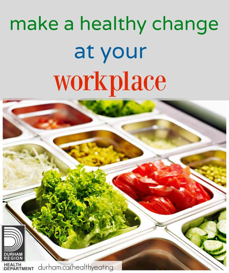 You can start off the new year by bring a healthy change to your workplace. Take a look at our Healthy Eating Workplace Guide to find a comprehensive way to incorporate healthy eating into different areas of your workplace.