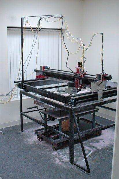 "3 Axis CNC Router - 60""x60""x5"" - JunkBot"