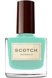scotch naturals water based nail polish. love that it's non-toxic: Watercolor, Natural Nails, Mint Nails, Scotch Natural, Natural Water, Leprechaun Lynch, Water Color, Nails Polish, Based Nails
