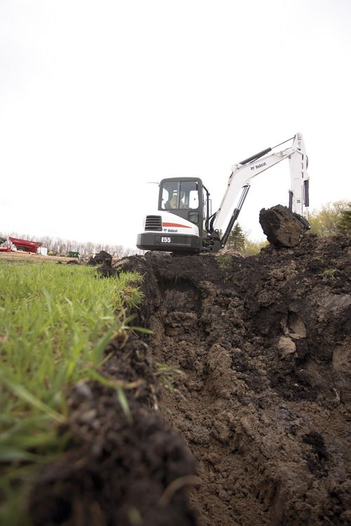 Bobcat E55 Compact Excavator (Mini Excavator) - Bobcat Company