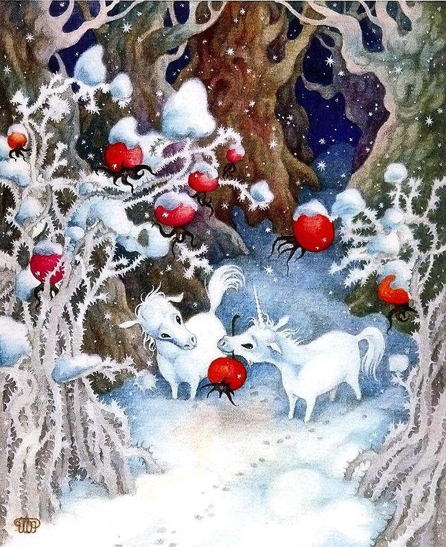 Поздравления для, открытки зима красивые