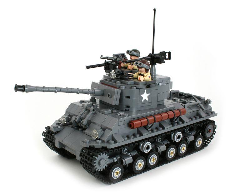 PimpMyBricks : Lego Sherman