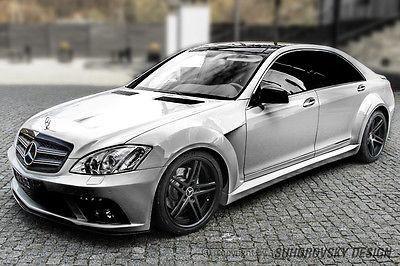 Mercedes Benz S W221 AMG 500 600 Wide Body kit Suhorovsky-Design SR66 XXL