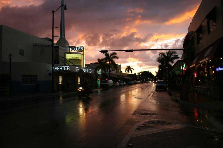 After storm sunset by Oscar Fumagalli