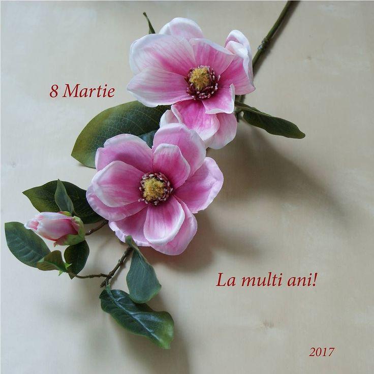 8 Martie | La multi ani! #flori #artificiale #floriartificiale #plante #uscate #planteuscate #floriuscate #decoratiuni #naturale #cadou #unicat #8martie #lamultiani #infrumusetare #casa #birou #flowerstagram www.beatrixart.ro