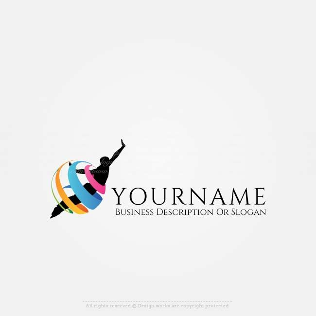 Fly logo design for sale online. Make a logo online, Use our free logo maker tochange your business name,colors,fonts, text & more.