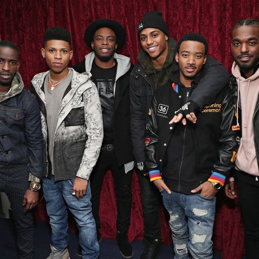 The Cast Of 'The New Edition Story' Spent Weeks In Choreography Boot Camp And Learned A Little Something About Mustard