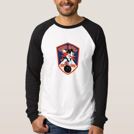 Mickey Mouse Bowling 300 game 'Strike Kings' T-Shirt - tap, personalize, buy right now!