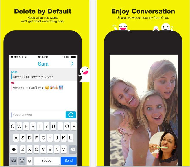 "Snapchat has added a new ""Tap to View"" feature, making it easier and faster to view Snaps and Stories."