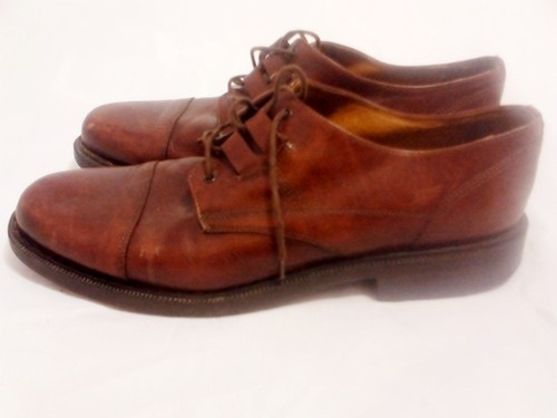 Mouse over image to zoom   BACCO BUCCI Leather Shoes Mens Size 14M Oxfords Dress Shoes Made In ITALY