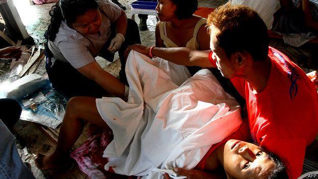 El panorama sanitario a raíz del tifón Haiyán que azotó Filipinas es inmenso y sobrecogedor.