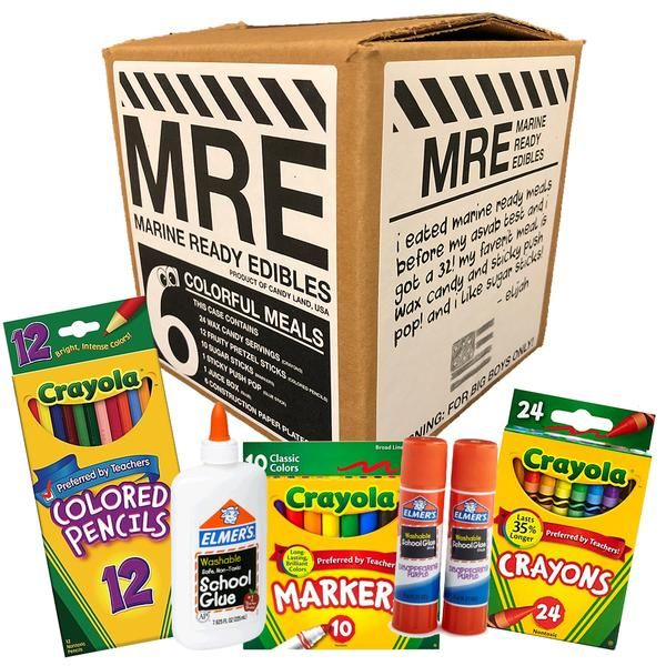 Marine Ready Edibles Mre Are Here A Complete 6 Day Serving To Keep A Good Boy Marine S Tummy Full Send A Box To Any Mar Ready Meal Wax Candy Sugar Sticks