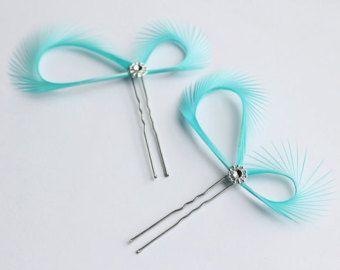 Turquoise Hair Pins - Bridal Hair Pins - Hair Accessories - Robin Egg Blue Hair Pins - Bridal Fascinators Bridesmaids Gift - Somethin Blue - Edit Listing - Etsy
