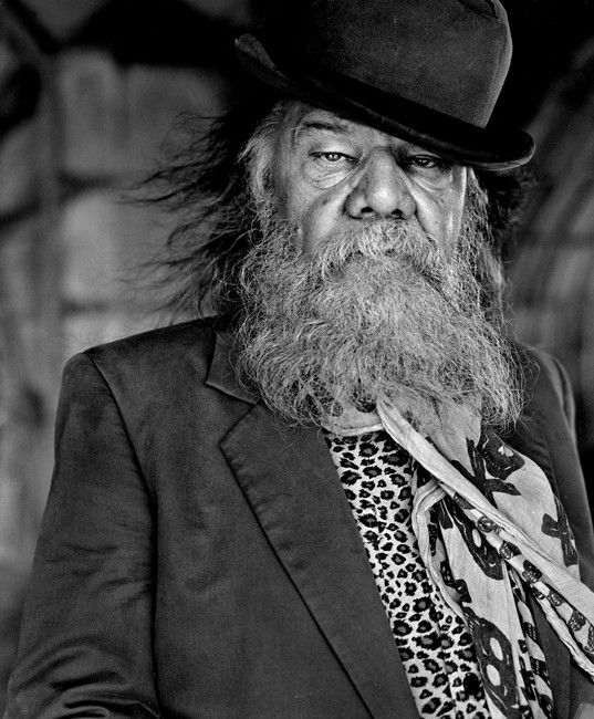Roland Van Campenhout (1945) - Flemish blues musician. Photo © Charlie De Keersmaecker