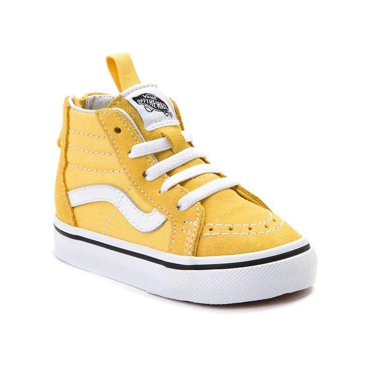 Toddler Vans Sk8 Hi Zip Skate Shoe