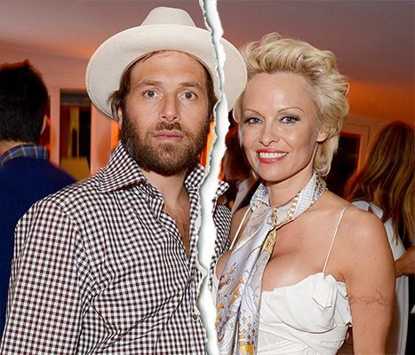 Pamela Anderson Files for Divorce From Rick Salomon - Us Weekly