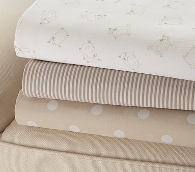 best crib sheets.....organic cotton  Pottery Barn kids
