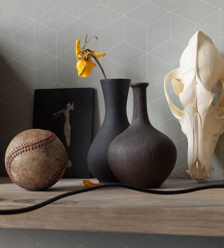 Grey | Box Wallpaper by eco | Jane Clayton