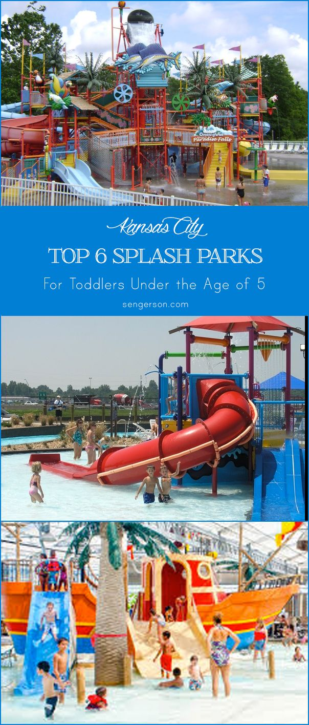 Top 6 Water Splash Parks and Leisure Pools in Kansas City for Toddlers from sengerson.com