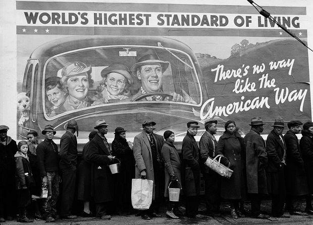 La campaña publicitaria que durante la Gran Depresión intentó convencer a los estadounidenses de que eran afortunados - Cuaderno de Historias