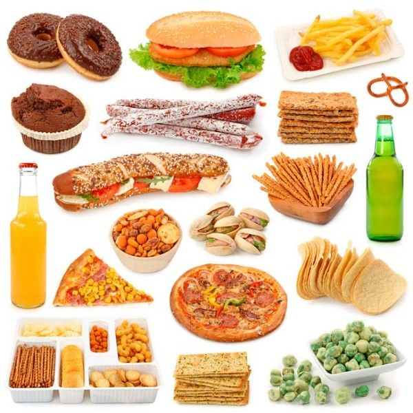 What are some unhealthy foods that you should avoid?