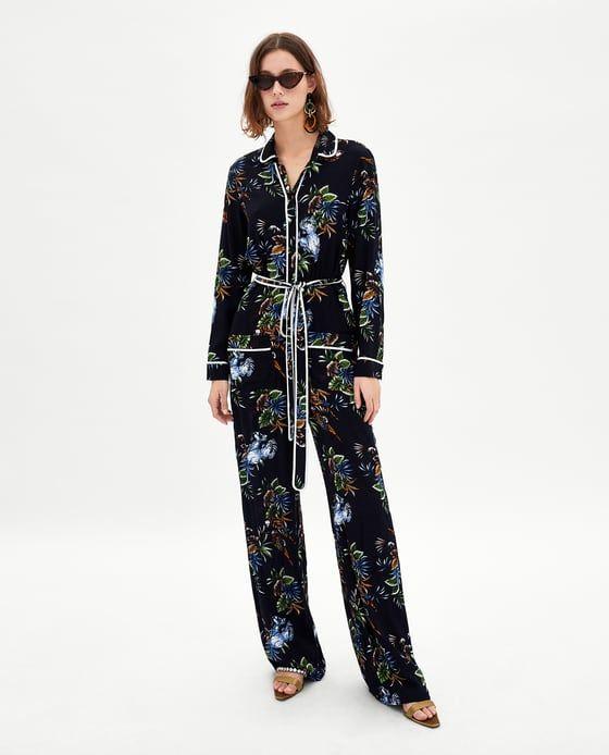 b2041286 Tie dye blouse   Presents For Me, Please   Printed jumpsuit, Zara ...