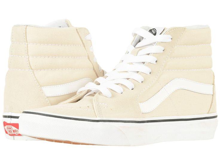 Vans SK8-Hitm Skate Shoes Birch/True White