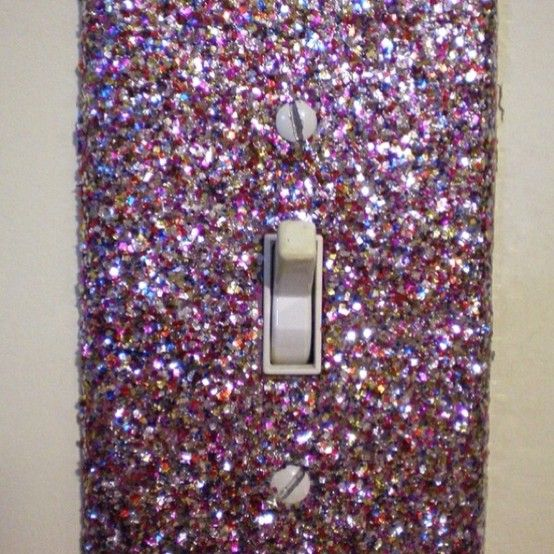 sparkle!!! I'll have this in my lady cave !