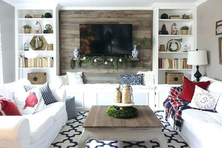 Image Result For Built Ins Around Tv Christmas Living Rooms