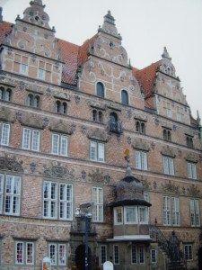 La maison de Jens Bangs, Aalborg, Danemark