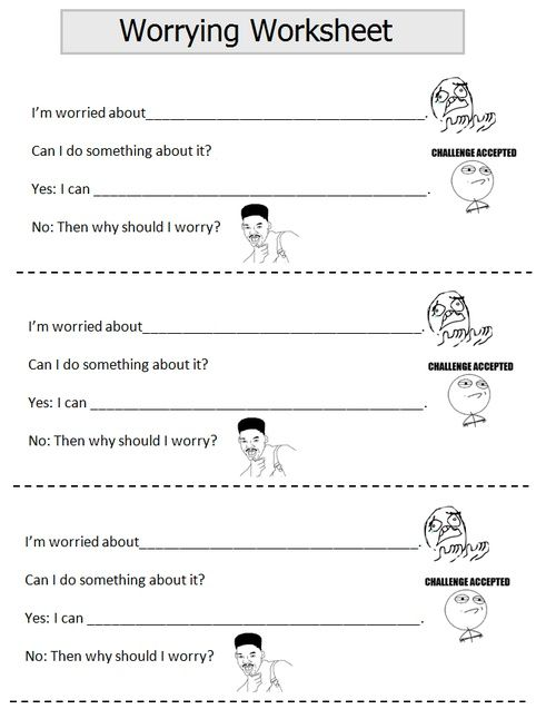 the worry tree worksheet - Google Search | literature ...