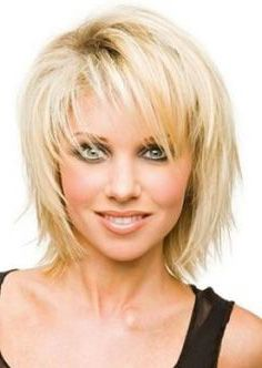 Coiffure femme 40 ans visage rond