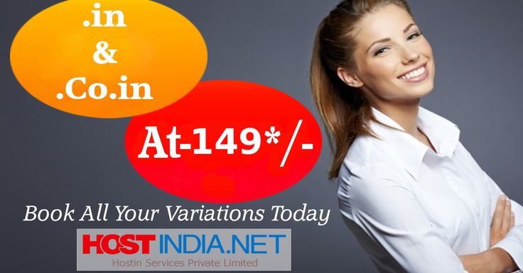 Give an end to your .in #Domain search ! Get your dream .in Domain at 149/- at HOSTINDIA.NET #Limitedoffer  Book All Your Variations NOW... https://www.hostindia.net/domains.php