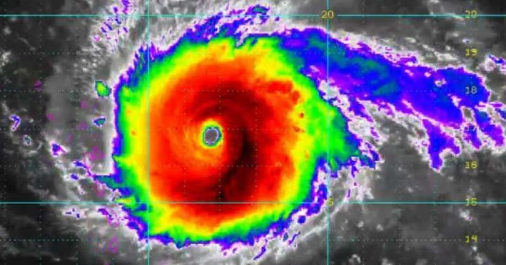 """Responding to images of Hurricane Irma taken from space, one scientist at the National Hurricane Center remarked that it was """"one of the most incredible things I have ever seen on satellite. """"(Photo: NOAA/@NHC_Atlantic)"""