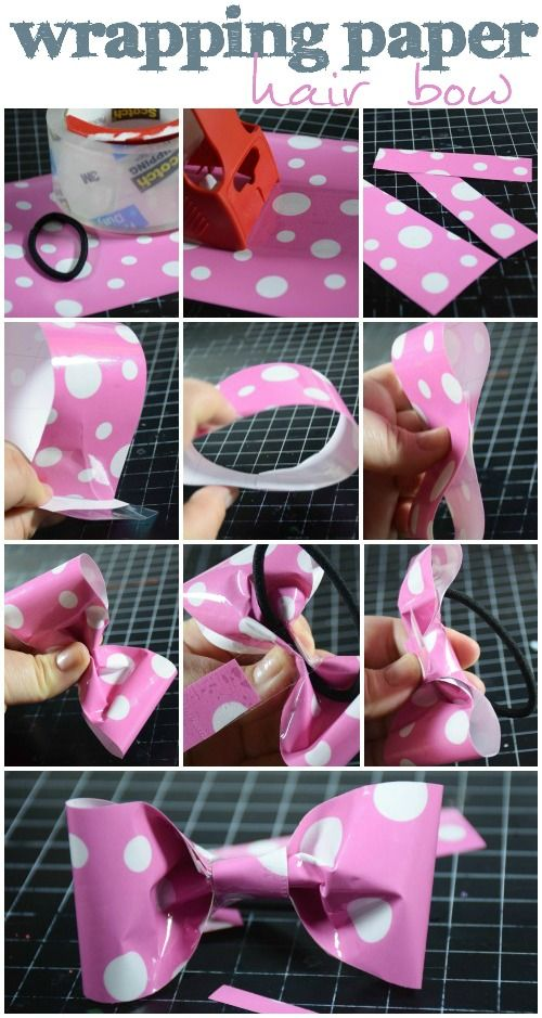 The 25+ best Wrapping paper bows ideas on Pinterest | DIY gift bow ...