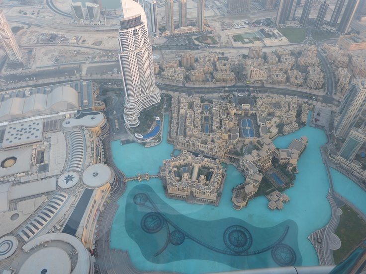 Dubai Mall from Burj Khalifa